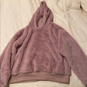 Soft brand new purple hoodie